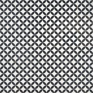 Hampton Floor Deco White 8x8