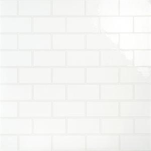Scatoloni Riquadri Bianco 5x10