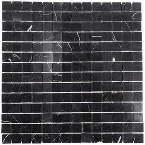 Nero Marquina 3 / 4 x 3 / 4 Squares