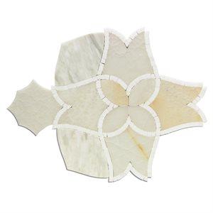 Alstromeria Series - White Onyx, Calacatta & White Thassos