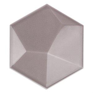 Hexagono - Piramidal Nude Brillo