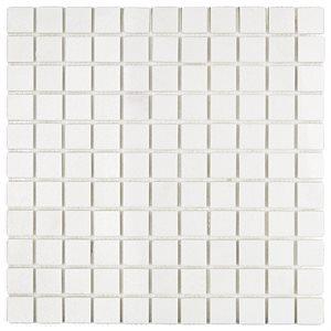 White Thassos 1x1 Squares