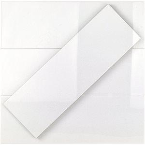 Crystal Tech White 6x18