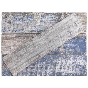 Colonial Wood White Matte 3x12